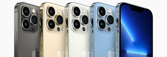 """Apple iPhone 13: """"Standard"""", mini, Pro e Pro Max. Presentati anche Watch 7, nuovo iPad e Mini iPad"""