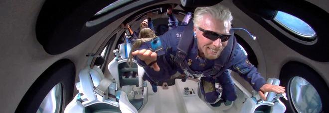 Branson astronauta, il video più bello dello storico volo della Virgin Galactic: inizia il turismo spaziale In regalo due biglietti: come ottenerli