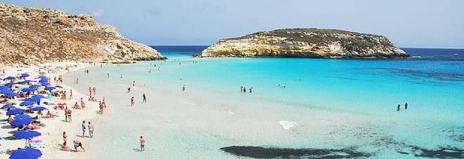 Ecco le spiagge pi belle d 39 europa e del mondo in italia for Scrittore di lampedusa