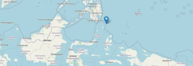 Terremoto tra Filippine e Indonesia: magnitudo 7, ma nessuna allerta tsunami