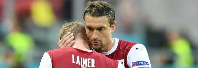Baumgartner qualifica l'Austria: sabato gli ottavi contro l'Italia. Con l'Ucraina finisce 1-0