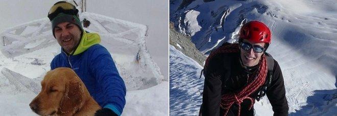 Alpinisti italiani morti in Svizzera, Giovanni Allevi e Matteo Cornago avevano 48 e 25 anni