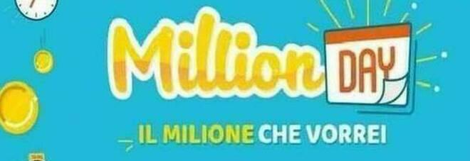 Million Day, i numeri vincenti di martedì 27 aprile 2021