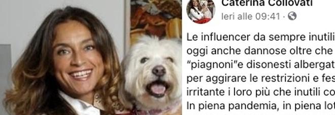 Caterina Collovati contro le influencer: «Inutili e ora anche pericolose, brutte copie di Chiara Ferragni». Ecco di cosa parla