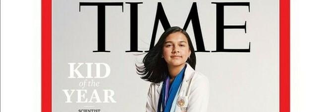 """Time, la prima copertina per la """"Ragazza dell'anno"""": è la scienziata prodigio 15enne Rao"""