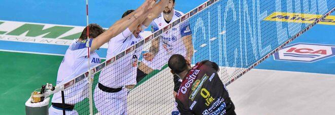 Milano, stavolta niente impresa con Civitanova: 0-3. Monza sorride al tie break (3-2) con Trento