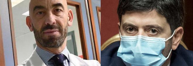 Covid, Bassetti: «Scandaloso che Speranza non sia vaccinato. Doveva fare Astrazeneca»