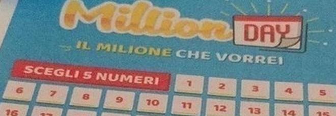 Million Day, estrazione di venerdì 18 ottobre 2019: i cinque numeri vincenti