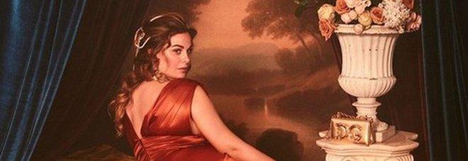 Vanessa Incontrada modella curvy per Dolce&Gabbana: le foto ispirate ai quadri del pittore Rubens