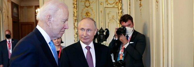 Usa-Russia, vertice terminato. Putin: «Biden ragionevole e diverso da Trump»