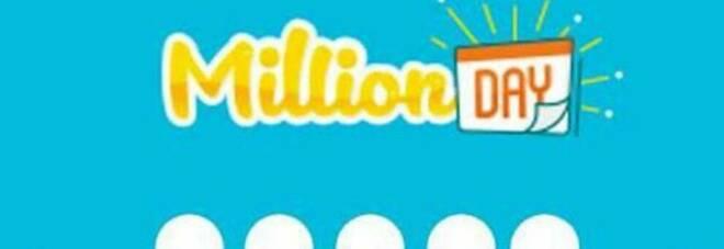 Million Day, i numeri vincenti di martedì 26 gennaio 2021