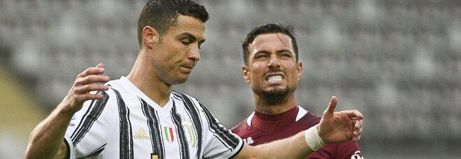 Torino-Juventus 2-2, le pagelle: Ronaldo solo a sprazzi, Sanabria e Ansaldi scatenati