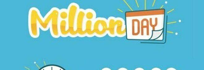 Million Day, i cinque numeri vincenti di oggi giovedì 19 novembre 2020