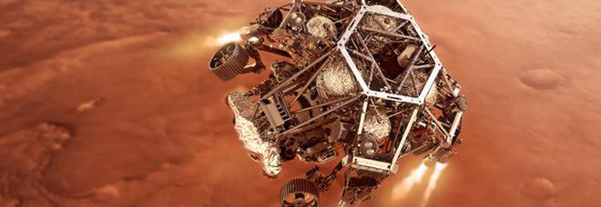 Il rover Perseverance della Nasa è arrivato su Marte