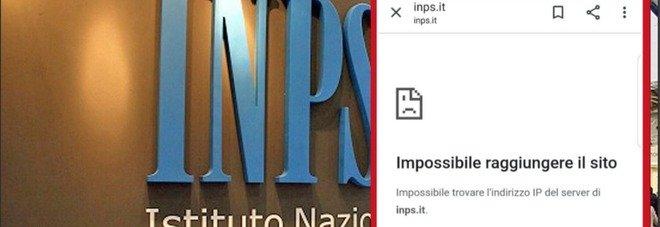 Inps, il sito è down: il boom di richieste del bonus da 600 euro ha mandato in tilt il server