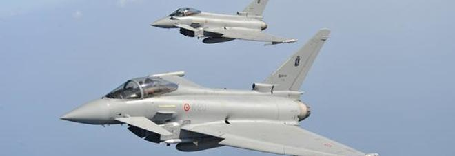 Aereo Da Caccia F15 : Aereo fantasma arabo intercettato dai caccia italiani