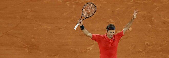 Roland Garros, Federer si ritira: Berrettini vola ai quarti