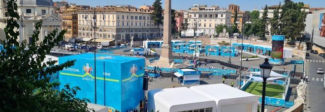 Si alza il sipario sugli Europei di calcio: inaugurato l'Uefa Festival a Piazza del Popolo