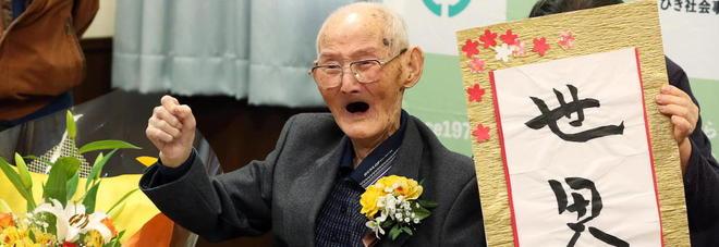 L'uomo più anziano del mondo ha 112 anni: è il giapponese Chitetsu Watanabe