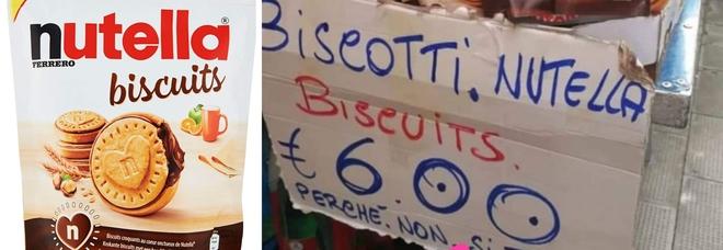 Nutella Biscuits, spuntano i bagarini: confezioni vendute fino a 8 euro «perché non si trovano»