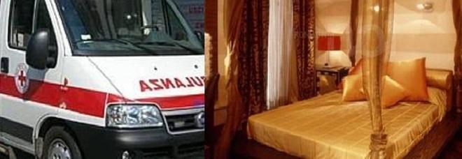 Una badante moldava di anni colpita da infarto dopo una-905