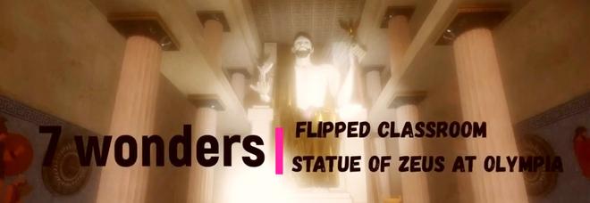 """Le sette meraviglie del mondo antico rivivono virtualmente in 3D: l' ultimo lavoro di """"Flipped Prof"""""""