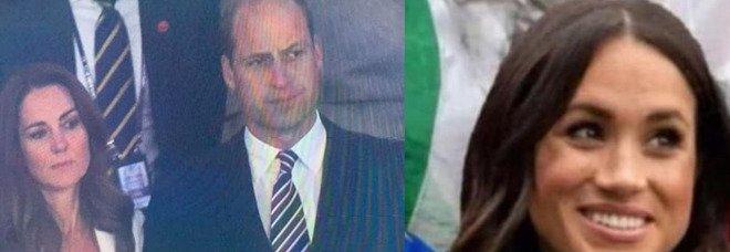 Meghan Markle sventola il tricolore, l'ironia del web durante Italia-Inghilterra