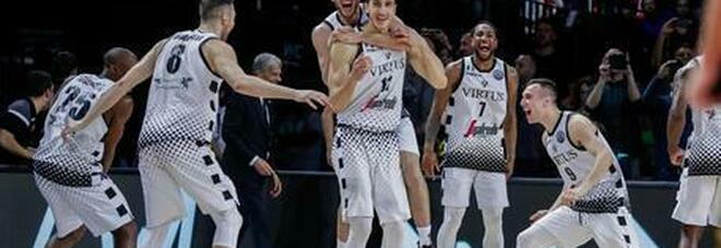 Basket Serie A, la Virtus Bologna è campione d'Italia: 4-0 all'Olimpia Milano