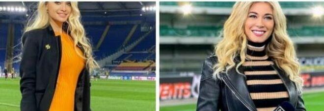 """Olga Kalenchuk, la """"rivale"""" ucraina di Diletta Leotta: la presentatrice conquista gli stadi"""