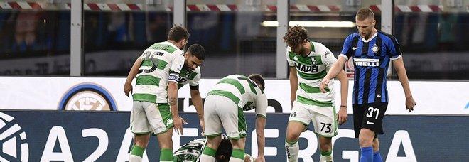 Delusione Inter, con il Sassuolo si deve accontentare di un rocambolesco 3-3