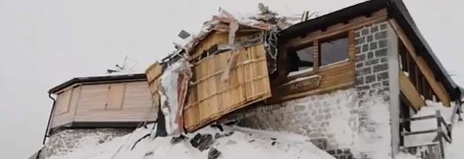 Valanga sulla Marmolada distrugge lo storico rifugio Pian dei Fiacconi e una seggiovia