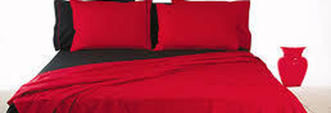 Hai lenzuola rosse o nere nel letto sarebbe meglio se le for Cimici nere