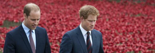 William e Harry, grida e insulti prima e dopo la cerimonia dedicata a Lady D: ecco cosa è successo