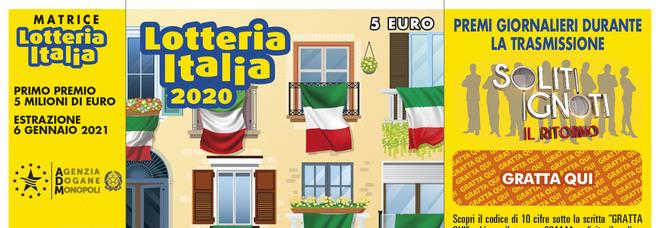 """Lotteria Italia a """"I Soliti Ignoti"""": dal 5 ottobre iniziano le estrazioni dei premi"""