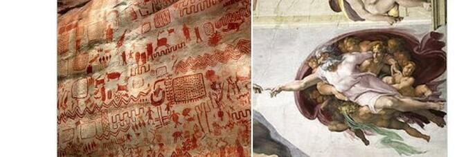 """Scoperta nel cuore dell'Amazzonia la """"Cappella Sistina della preistoria"""": 12 km di pitture rupestri"""
