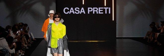 """AltaRoma 2021, la collezione """"Pelle"""" di CasaPreti: il corpo come modello sui cui lavorare"""