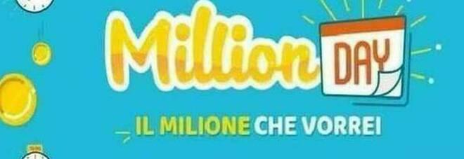 MillionDay, i numeri vincenti di domenica 18 aprile 2021