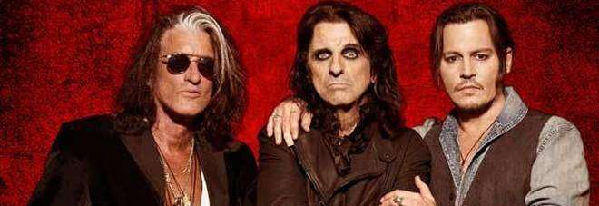 Rock in Roma, svelati i primi artisti: arriva il supergruppo di Alice Cooper, Johnny Depp e Joe Perry