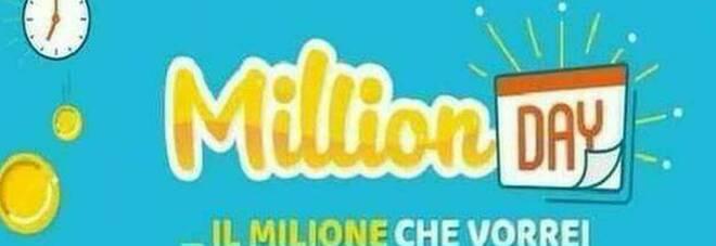 Million Day, i cinque numeri vincenti di lunedì 26 ottobre 2020