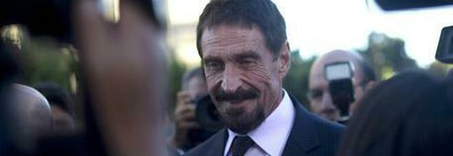 Arrestato l'inventore degli antivirus McAfee, sulle tasse diceva: «Sono illegali». Rischia 30 anni di carcere