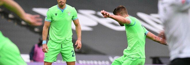 Spezia-Lazio 1-2: vittoria pesante per Inzaghi, reti di Immobile e Milinkovic. Testa al Bruges