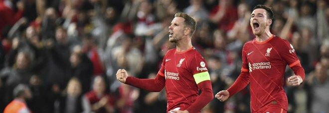 Liverpool-Milan 3-2, gran spettacolo ad Anfield ma i primi tre punti sono dei Reds