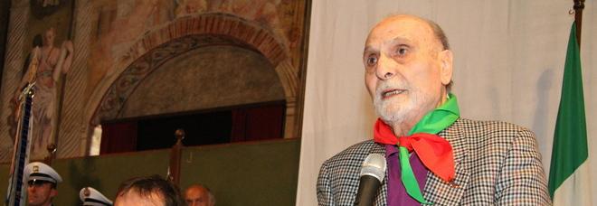 Addio al partigiano Eros: Umberto Lorenzoni, storico presidente dell'Anpi