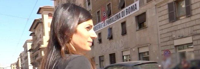 Casapound Roma, la Raggi annuncia lo sgombero imminente: «Lo avevo detto e ora ci siamo»