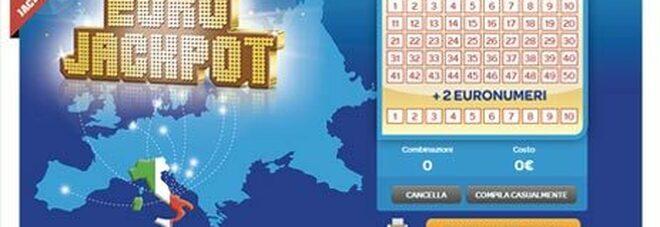 Eurojackpot, l'estrazione di oggi venerdì 10 settembre 2021: i numeri vincenti