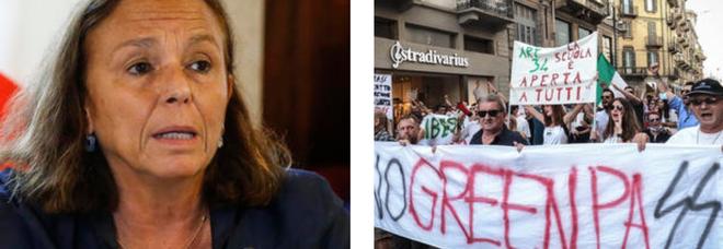 No Vax, Lamorgese: «I toni salgono, rischio estremismi nelle manifestazioni»