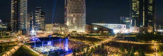Bam, Back to the city: in seimila sotto le stelle al concerto con Stefano Bollani