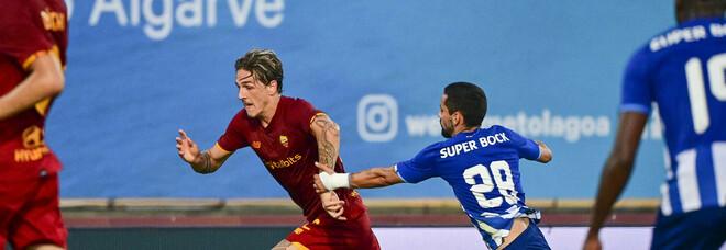 Porto-Roma 1-1: scoppia la rissa tra Pepe e Mkhitaryan. Caos in campo, Mou sangue freddo