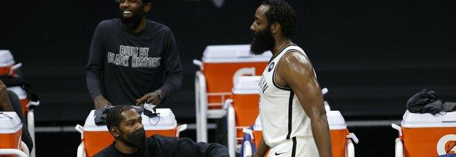 NBA: Durant-Harden-Irving, i Big Three dei Nets vinceranno l'anello?