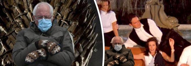 Dov'è Bernie Sanders? Il senatore all'Inauguration Day scatena l'ironia dei social: i meme più divertenti
